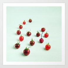 Cherry [Tomato] Bomb Art Print