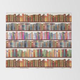 Jane Austen Vintage Book collection Throw Blanket