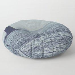 Whaleback Light Floor Pillow