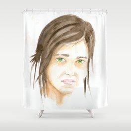 Last of us? Ellie? Shower Curtain