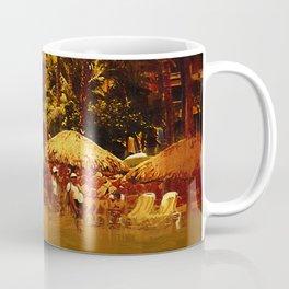 Resort Beach Scene Coffee Mug