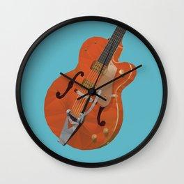 Gretsch Chet Atkins Guitar polygon art Wall Clock