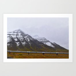 Autumn in the North Slope Art Print