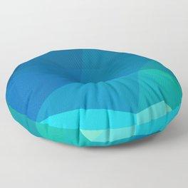 Blue 02 Floor Pillow