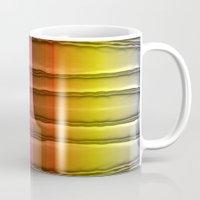 quilt Mugs featuring Quilt Pattern  by Zenya Zenyaris