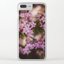 Beauty of Spring IV Clear iPhone Case
