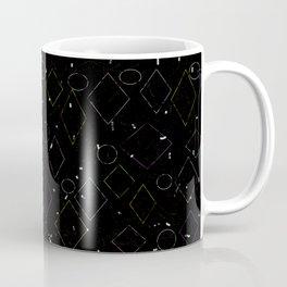 Tipping Squares Coffee Mug