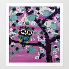 :: Gemmy in Pink :: Art Print