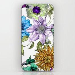Botanical Haze iPhone Skin