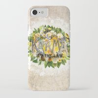 karma iPhone & iPod Cases featuring Karma by Jenndalyn