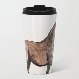 GRONINGEN HORSE - Black brown Travel Mug