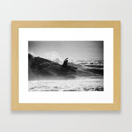 Iconic Indo Surfer Framed Art Print