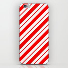 Peppermint Stripes iPhone Skin
