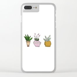 The Best Things Come in Threes Clear iPhone Case