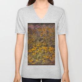 Yellow Jungle Unisex V-Neck