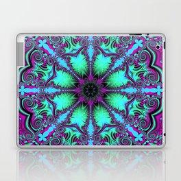 The blooming mandela Laptop & iPad Skin