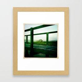 Wrecked Framed Art Print