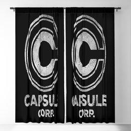 Capsule Corp. Blackout Curtain
