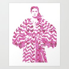 Chevron: Fashion Art Print