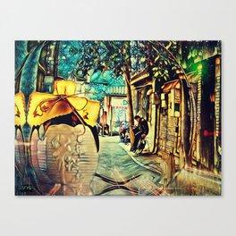 牛栏山白酒 Beijing Trip 3 Canvas Print
