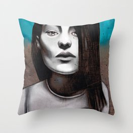 Girl love Throw Pillow