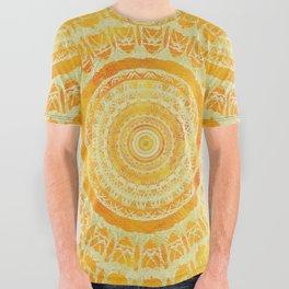 Sun Mandala 4 All Over Graphic Tee
