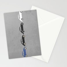 vw beetle abbey road  Stationery Cards