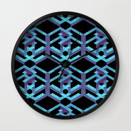 Impossible Interlace Wall Clock