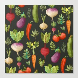 Garden Veggies Canvas Print