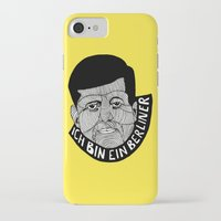 jfk iPhone & iPod Cases featuring JFK by The Ceza