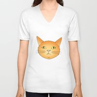 lucy V-neck T-shirts featuring Lucy by Caz Haggar