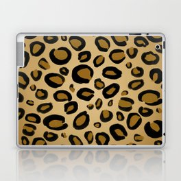 Painted Cheetah Leopard Spots Laptop & iPad Skin