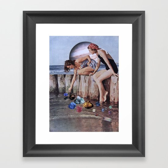 PIEDRAS PRECIOSAS Framed Art Print