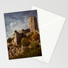 An old abandoned castle Stationery Cards