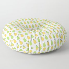Delicious Pears Pattern Floor Pillow