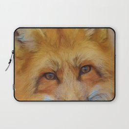 Fox in a close-up Laptop Sleeve