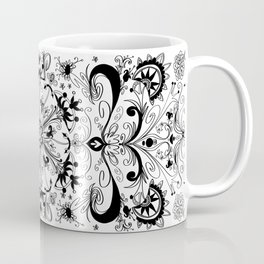 Symmetrically inclined yoga mat Coffee Mug