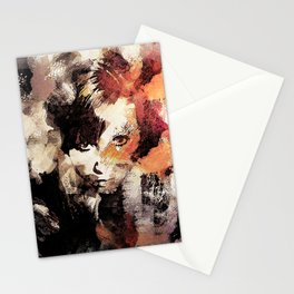 Bandwagon Abstract Portrait Stationery Cards
