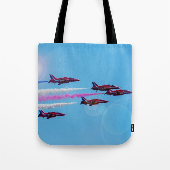 ARROWS IN FLIGHT Tote Bag