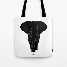 E/Elephant Tote Bag