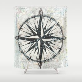 Live Travel Adventure Bless Shower Curtain