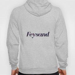 Feysand galaxy design white Hoody