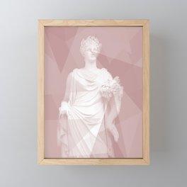 Modern Statue Framed Mini Art Print