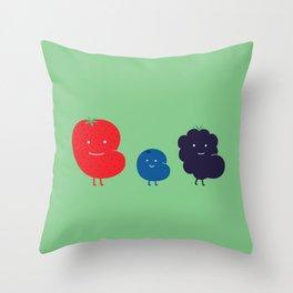 Berry Fat Throw Pillow