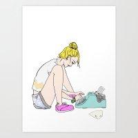 Type Me Art Print