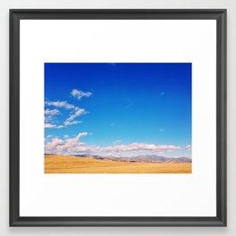 Golden CA Landscape Framed Art Print