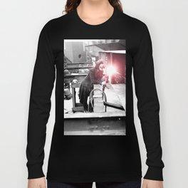 Vintage Female Welder / Oxy-Fuel Cutter Long Sleeve T-shirt