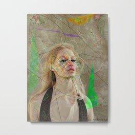 Woman N80 Metal Print