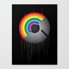 Rainbow Album  Canvas Print