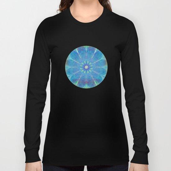 Mandala - Mural Effect Long Sleeve T-shirt